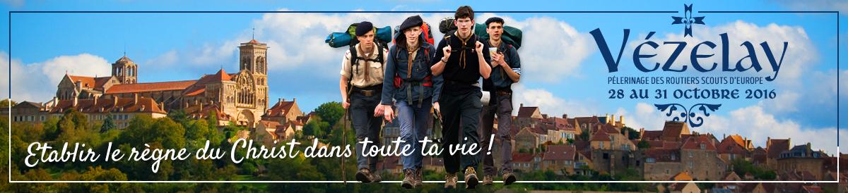 Toutes les informations concernant le rassemblement annuel des Routiers Scouts d'Europe à Vézelay
